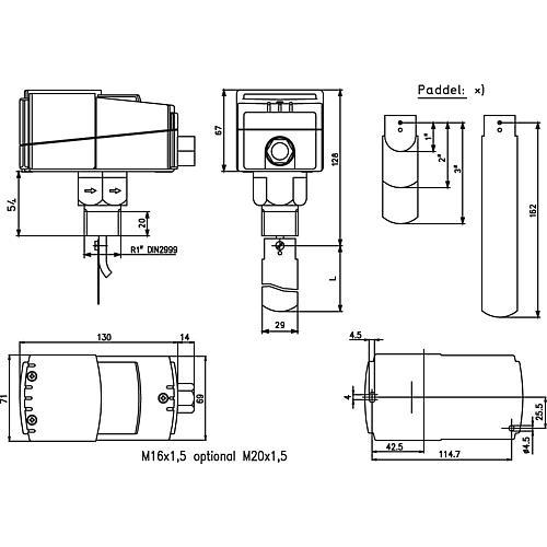 contr leur de d bit d eau jsf 1e 3e. Black Bedroom Furniture Sets. Home Design Ideas