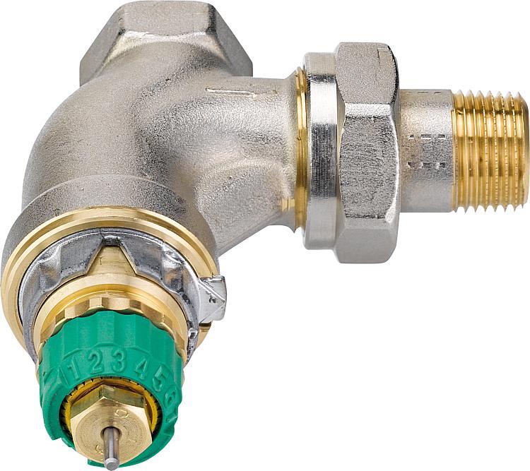 Vanne thermostatique danfoss dynamic valve ra dv dn15 1 2 angle - Vanne thermostatique danfoss ...