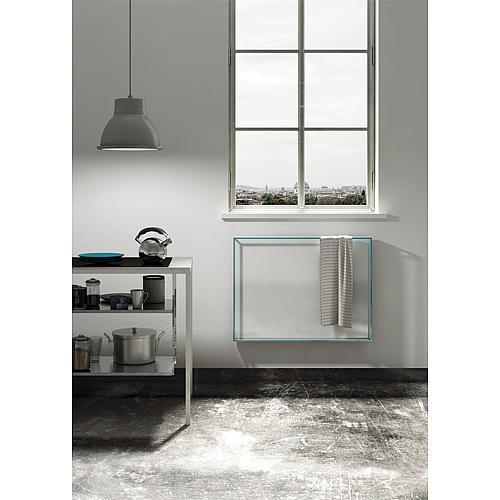 radiateur s che serviettes lectrique horizontal light. Black Bedroom Furniture Sets. Home Design Ideas