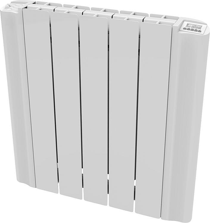 radiateur electrique aluminium eblitz gd 5806 600 watt ral 9010. Black Bedroom Furniture Sets. Home Design Ideas