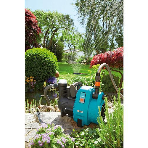 pompe d arrosage de surface gardena comfort 4000 5 jet. Black Bedroom Furniture Sets. Home Design Ideas