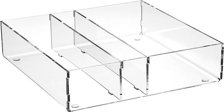 Boite De Rangement En Plexiglas Transparent 240x50x240mm