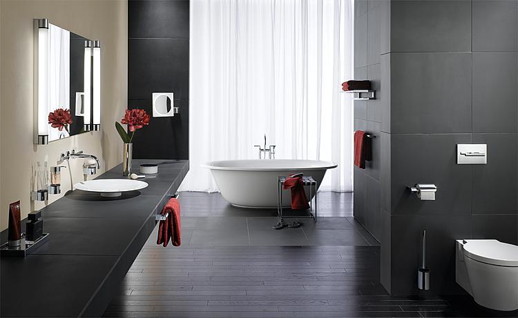 Porte rouleau system 2 avec couvercle for Salle de bain xxs