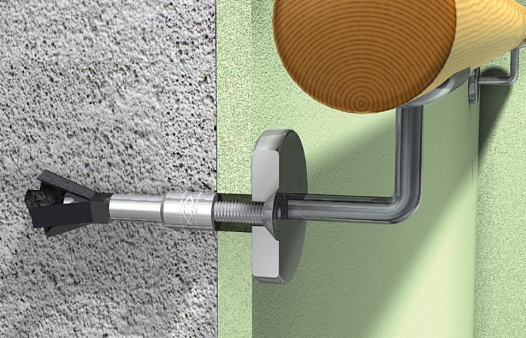 cheville pour b ton cellulaire fpx m8 25 pieces. Black Bedroom Furniture Sets. Home Design Ideas